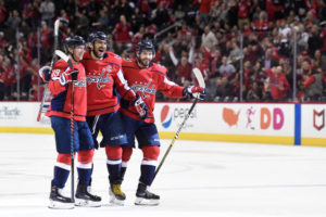 Oshie Returns, Ovechkin gets Hat Trick, Capitals soar over Red Wings