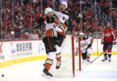 Ducks score five unanswered in final 26:29 to end Capitals' win streak