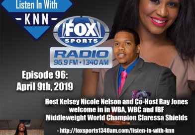 """Current Undisputed Middleweight Boxing Champion Claressa Shields Talks Title Glory on """"Listen In With KNN"""""""