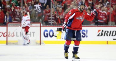GAME ONE RECAP: Caps Escape Canes' Comeback Attempt