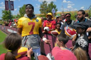 When called upon, Dwayne Haskins Jr. is ready to lead as the Washington Redskins starting Quarterback