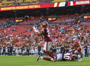 Skins Show-Outs against the Bengals