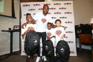 John Wall and The John Wall Family Foundation Give Back At Their Sixth Annual Backpack Giveaway in D.C.