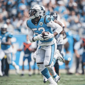 Christian McCaffrey's Three Touchdowns Power Panthers to 34-27 Win Over Jaguars