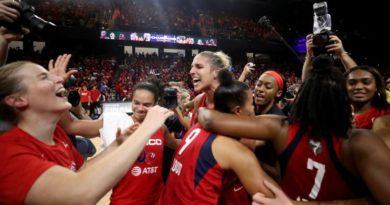The Mystics Cap Off Historic Season with First-Ever WNBA Championship