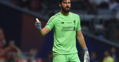 Exclusive: Liverpool and Brazil star Alisson Becker shares positivity of children living a healthier lifestyle as World Health Organization Goodwill Ambassador