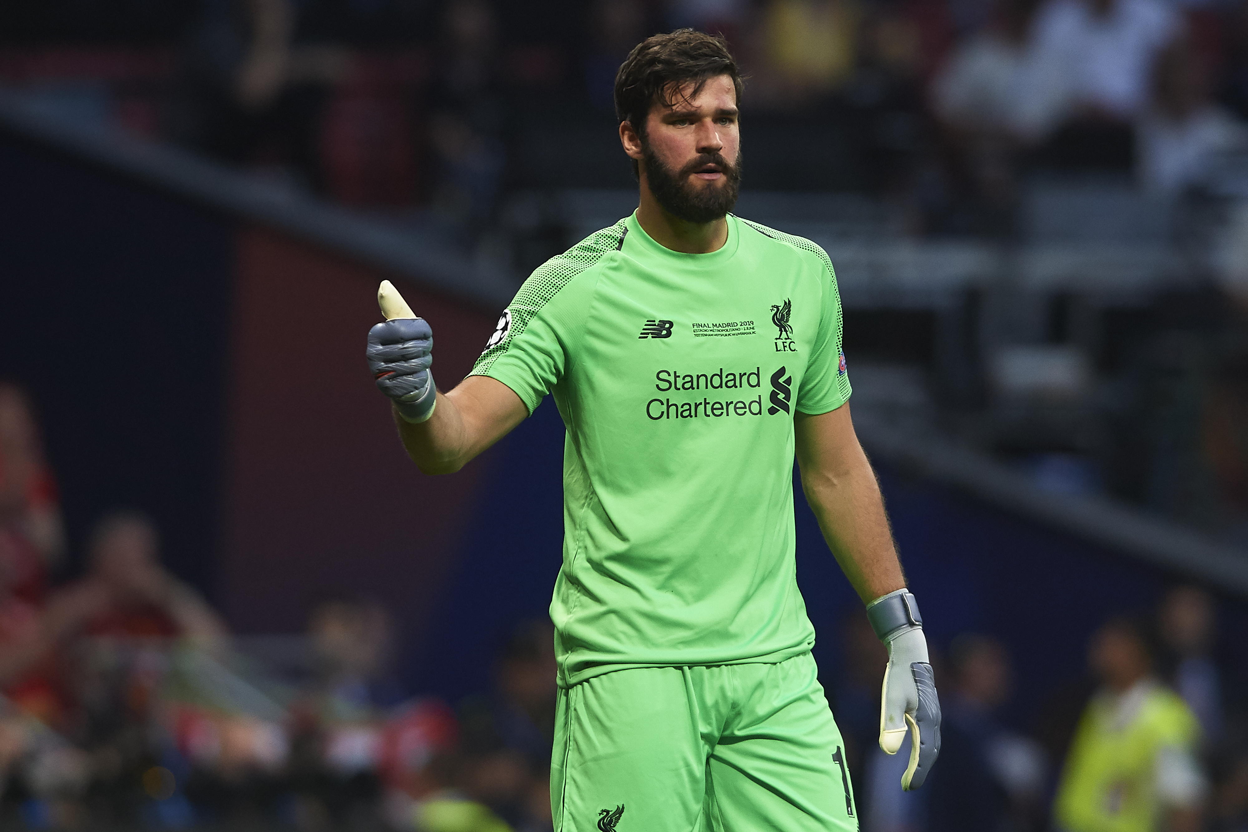 Exclusive: Liverpool And Brazil Star Alisson Becker Shares