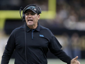 Carolina Panthers Fire Ron Rivera