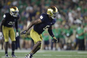 Panthers Select Speedy Notre Dame Cornerback Troy Pride Jr in the Fourth Round of NFL Draft
