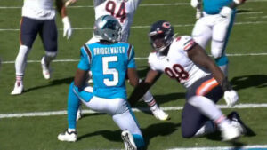 Turnovers & Penalties Lead to Panthers 23-16 Loss to Bears